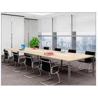 南昌办公家具实木办公室职员办公桌 简约大型会议桌机构培训桌椅组合批发