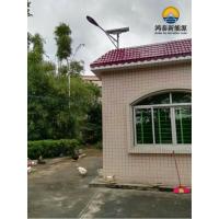 赣县LED太阳能路灯厂家批发,鸿泰8米太阳能路灯直销,户外太阳能路灯配置参数