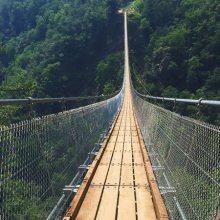 景区木板桥生产厂家,亿动乐游乐,质量好寿命长