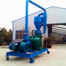 仓库散粮食气力吸粮机 长距离气力输送机 40吨风吸式吸粮机qk