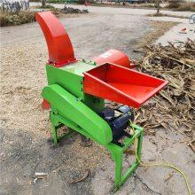 小型玉米秸秆家用铡草机 多功能铡草揉丝机