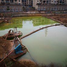 水泥站污水处理设备原料砂污水环保设备