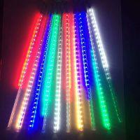 20 30CM LED迷你流星雨灯管 户外亮化景观灯圣诞节日装饰彩色灯串