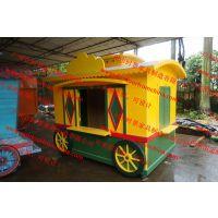 南瓜造型售卖亭,主题公园贩卖花车,美食街餐饮摊位,户外售货车
