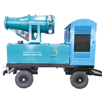 矿用除尘雾炮工作原理 金科机电可移动式风送式喷雾机