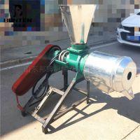 邦腾制造小型磨面机价格 农家乐用锥形玉米磨粉机
