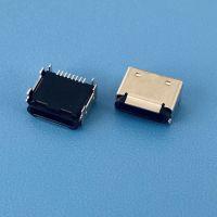 尺寸规格最小的卧式苹果小母座/六脚插板/板上型/前插后贴SMT/8PIN