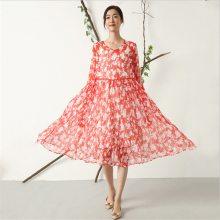 北京2019新款真丝连衣裙有哪些品牌采购价格_元亨服饰