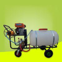 亚博国际真实吗机械 电启动遥控式打药机 高射程电动喷雾器 打药机 农用200升推车式四轮电动喷雾器