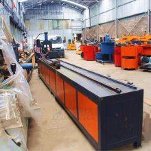 小导管冲孔机超前管数控冲孔机隧道支护注浆小导管缩尖机打孔机