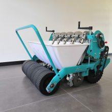 拖拉机牵引式6行大蒜播种机 种蒜机械