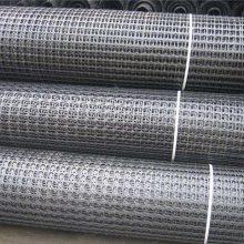 宁夏码头货场双向塑料土工格栅-山东正信工程材料