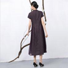 上海原创香云纱外套厂家产品拍摄_元亨服饰