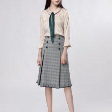 广州重磅上市女装新款 轻奢 高贵女装一手货源批发渠道 品牌折扣女装批发市