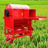 新型小型家用稻麦脱粒机 家用两项电小麦脱粒机