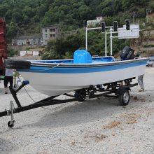 橡皮艇拖车,冲锋舟快艇游艇拖车,路亚艇钓鱼船玻璃钢船摩托艇拖车
