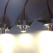 牛眼射灯酒柜1W超亮聚光射灯可调角度led迷你小射灯开孔3.2CM直径35m