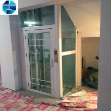 专业定制生产家用电梯 别墅观光电梯 二层三层小型家用电梯