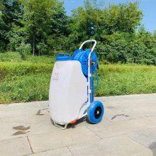 推车式农药喷药机 手推电动高压喷雾器 校园绿化防疫喷雾器志成批发