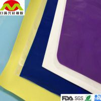 东莞厂家直销 彩色硅胶卷材 透明耐酸碱硅胶片材 绝缘硅胶卷材
