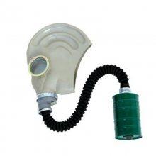 头戴式防毒面具规格 橡胶防毒面具厂家 防毒烟毒雾面具功能
