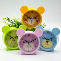 十元精品店 可爱卡通闹钟 米奇小熊儿童创意闹钟可爱时尚卡通时钟
