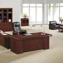 【马头实木班台】(图)-宜阳老板办公桌批发-洛阳老板办公桌