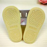 厂家PVC软胶儿童橡胶鞋底鞋垫 防滑 婴儿棉鞋底定做加工logo订制
