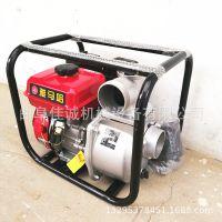 汽油自吸泵_2寸汽油自吸泵单相220伏汽油带轮子-