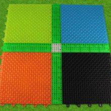 承德幼儿园悬浮式拼装地板 户外游乐场悬浮地板 室外运动操场悬浮地板