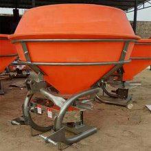 现货农用高效率撒肥器 拖拉机后输出轴撒肥器 四轮后悬挂扬肥机
