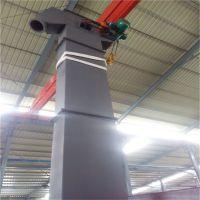自动卸料不锈钢单斗上料机 单斗式倾斜提料机