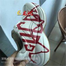 温州鞋子uv打印机皮革纺织鞋面3D彩绘高落差打印机
