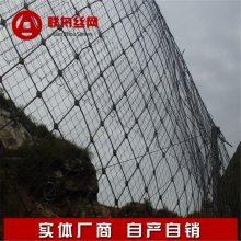 【菱形护坡钢丝绳网】菱形护坡钢丝绳网价格多少钱一平方米