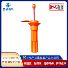 新型伸缩围栏地桩 环氧树脂工程塑料高强耐腐蚀绝缘