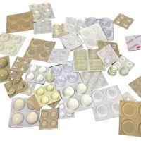 生产直销透明消音胶粒 透明自粘胶粒,透明防撞胶粒厂家
