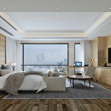 龙湖舜山府二期大平层设计方案,重庆200平米北欧原木风装修效果图