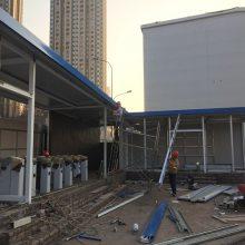 拱形钢结构彩钢棚产品介绍