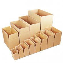 1-12号常规尺寸淘宝纸盒发货 郑州销售三层五层牛皮纸箱