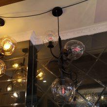 北欧风格灯客厅树枝吊灯简约现代艺术创意个性餐厅饭厅玻璃灯具