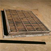厂家定制热镀锌钢格板水沟盖地沟盖板楼梯踏步板钢结构平台格栅板