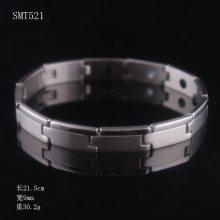 不锈钢手链 钛钢男士保健锗手镯 不锈钢饰品磁石手链 热卖爆款