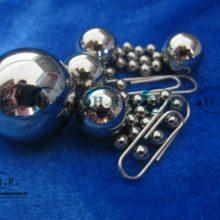 供应广东钢球厂(乾润钢球)G10超精密轴承用2.5mm440c不锈钢球