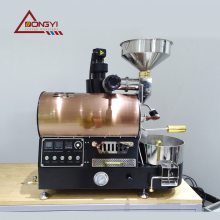 2020款BY精品咖啡烘焙机 升级手阀版咖啡豆烘烤机 厂家直营