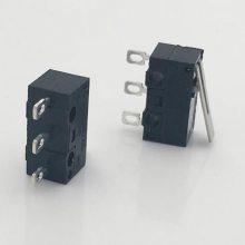 方脚微动开关 环保WK1-04鼠标微动开关 高品质小按钮复位源头厂家