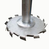 广东分散盘厂家 锯齿分散盘定制 带轴套搅拌盘