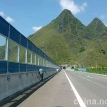 河南郑州新力声屏障定制安装 空调声屏障 桥梁声屏障 电厂冷却塔声屏障