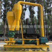 滑石粉无尘装卸气力输送机 自吸式无尘管道输送机 矿粉气力吸粮机