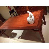 明式刺猬紫檀条案,东阳红木家具市场