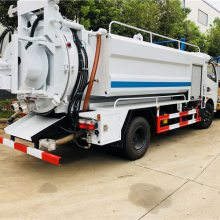 多功能清洗吸污车 小型吸污车厂家 高压管道疏通车价格